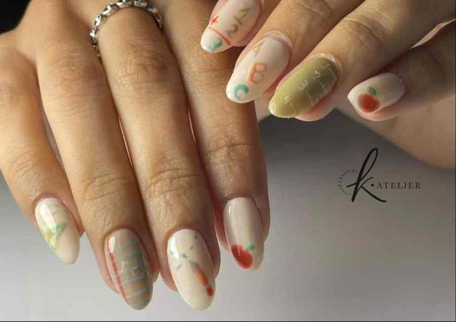 Back to School Nail 2021080701 - The Perfect Back to School Nail Designs