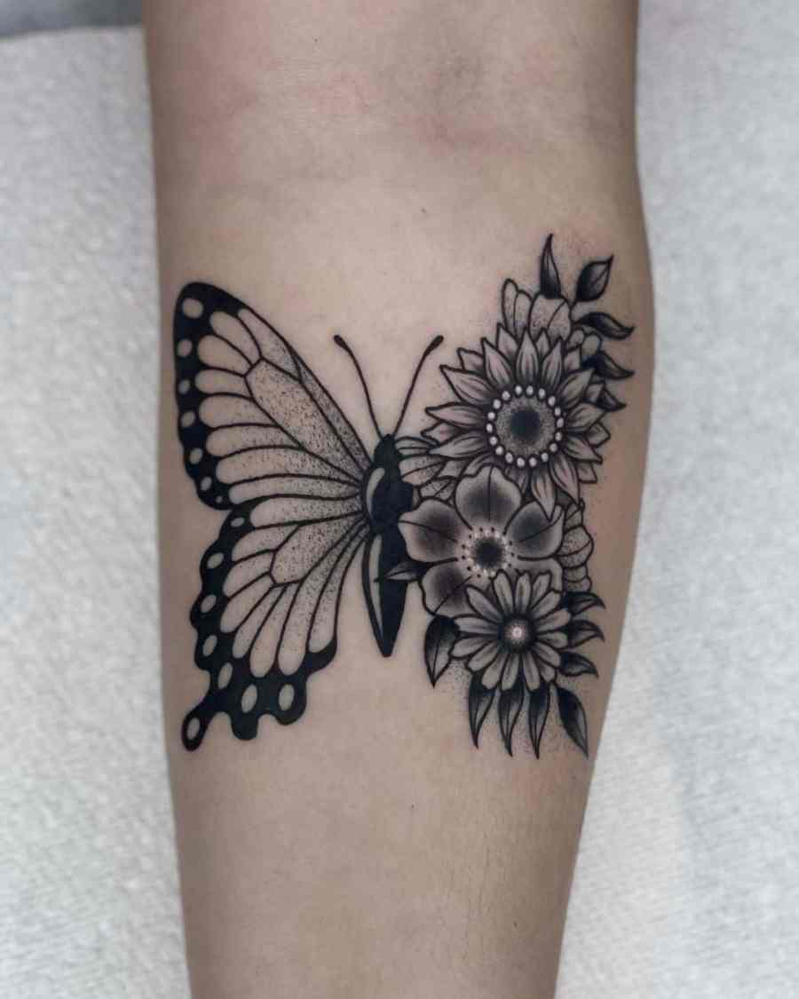 Black Tattoos 2021081703 - The Best Black Tattoos for Meaning and Inspiration