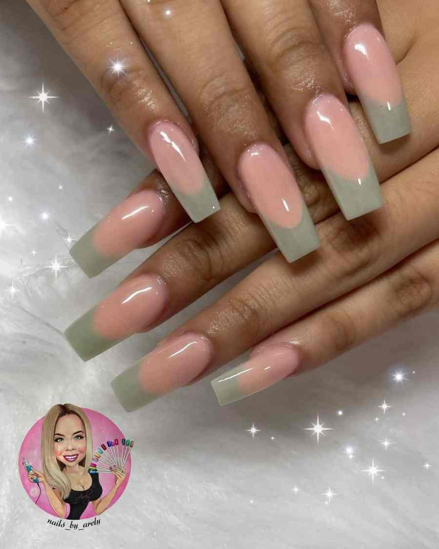 Green Nails 2021082205 - The Most Fashionable Green Nails to Impress You