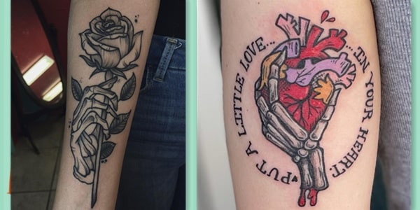 Skeleton Hand Tattoo Meaning-20210813