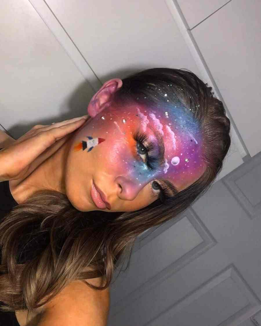 Easy Halloween Makeup 2021091001 - 10+ Easy Halloween Makeup Ideas Anyone Can Do Easily