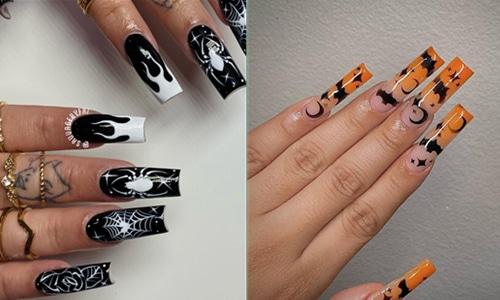 Halloween Nail Art-20210919