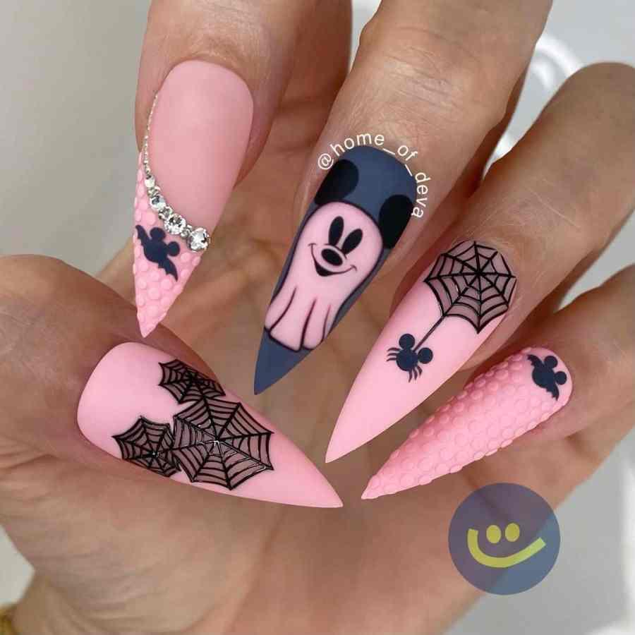 Halloween Nail Art 2021091915 - 20 Halloween Nail Art Designs Easy to Copy
