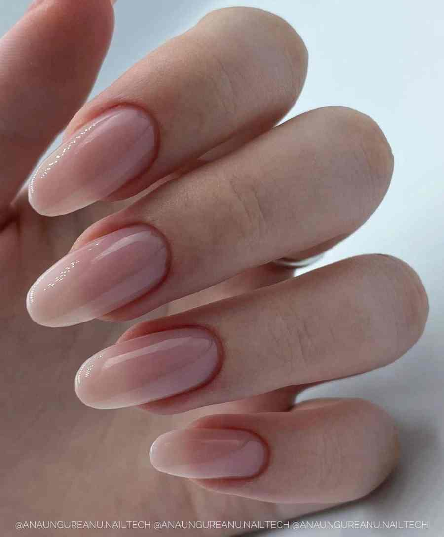Nude Nails 2021092208 - 18 Nude Nails Help You Create a Stylish Look