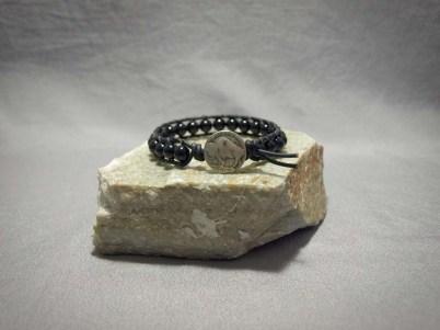 Single wrap bracelet 8mm Onyx