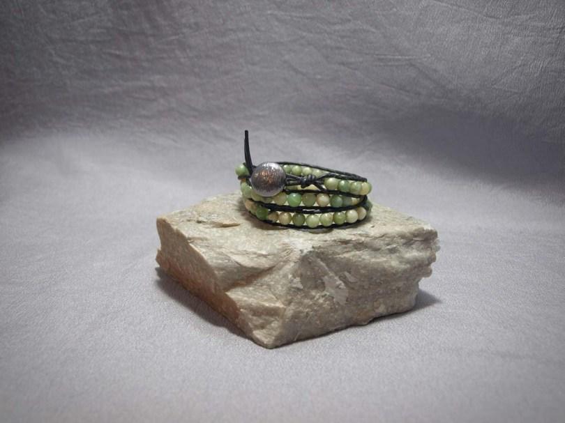 3 wrap bracelet 6mm Serpentine