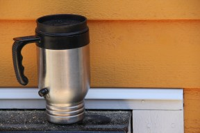 The ever-present coffee mug. Can't build Tiny without fuel!