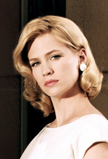 """January Jones (b.1978) - One of the female stars of the TV-serie """"Mad Men"""" (86 episodes, 2007-14). She has also starred in """"Bandits"""" (2001), """"Dirty Dancing 2"""" (2004), """"We are Marshall"""" (2006) and """"X Men: First Class"""" (2011)."""