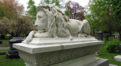 Ayer Lion Lowell Cemetery