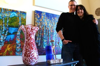 Peter Zimmerman & Tracy Levesque