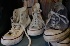 Classic Chuck Taylor high tops never go out of style.
