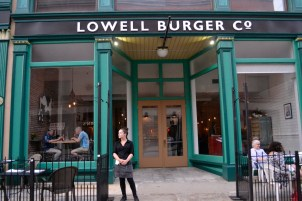 LBC was a popular sot to dine during Lowell Folk Weekend.