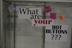 What Are Your Hot Buttons? by Jordyn Haime