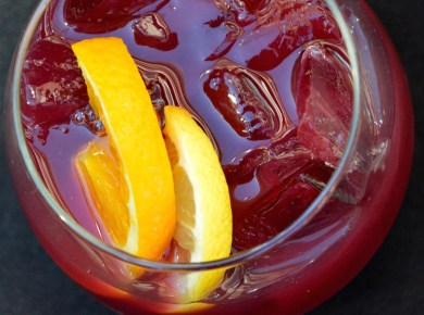 Fuse Sangria photo by Heather Barker