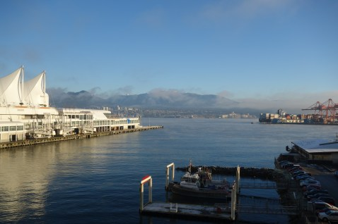 Looking across to Vancouver North Shore