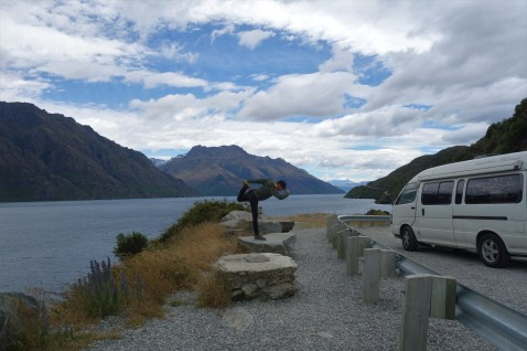 Lake Wakatipu, en route from Invercargill to Glenorchy