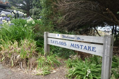 A visit to Taylors Mistake near Sumner