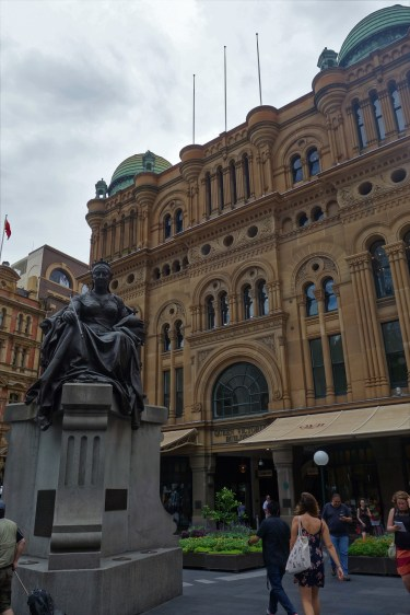 Queen Victoria Building by day
