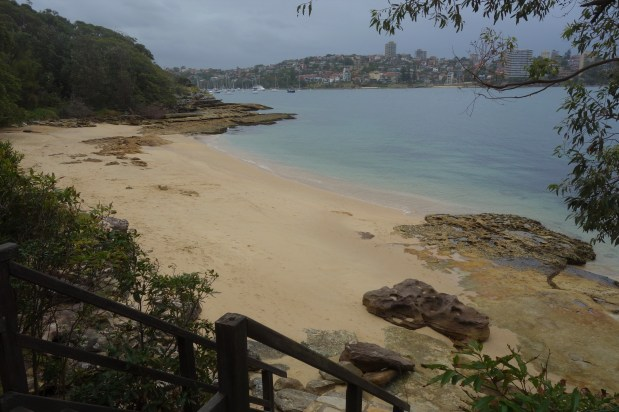 Beaches on the walk to Manly