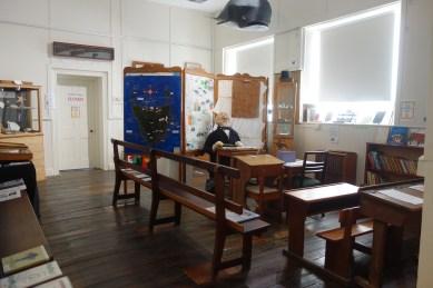 East Coast Heritage Museum - old classroom