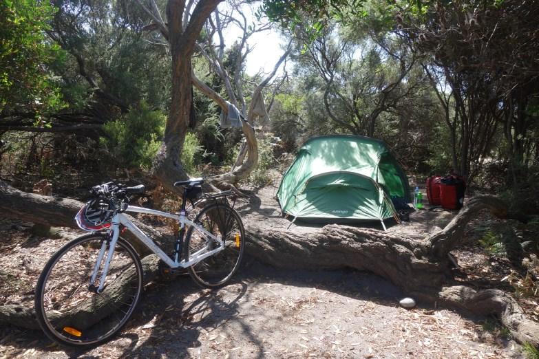 Friendly Beaches camp