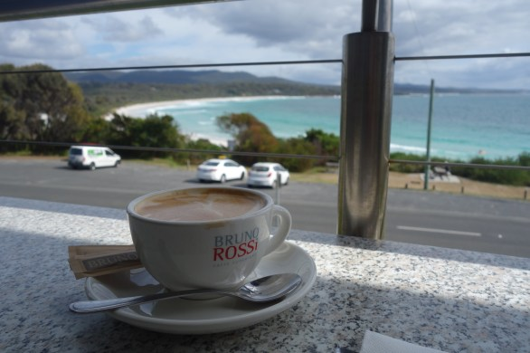Coffee in Binalong Bay