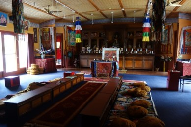 The Gompa - Tibetan temple