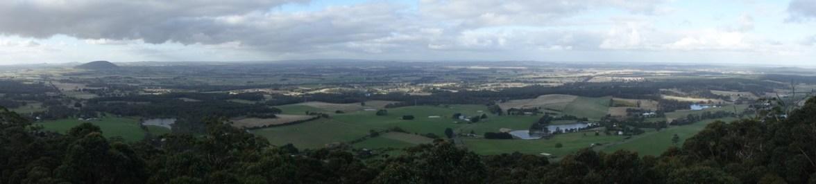 Views from Mount Buninyong