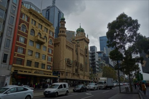 View of The Forum, Flinders Street