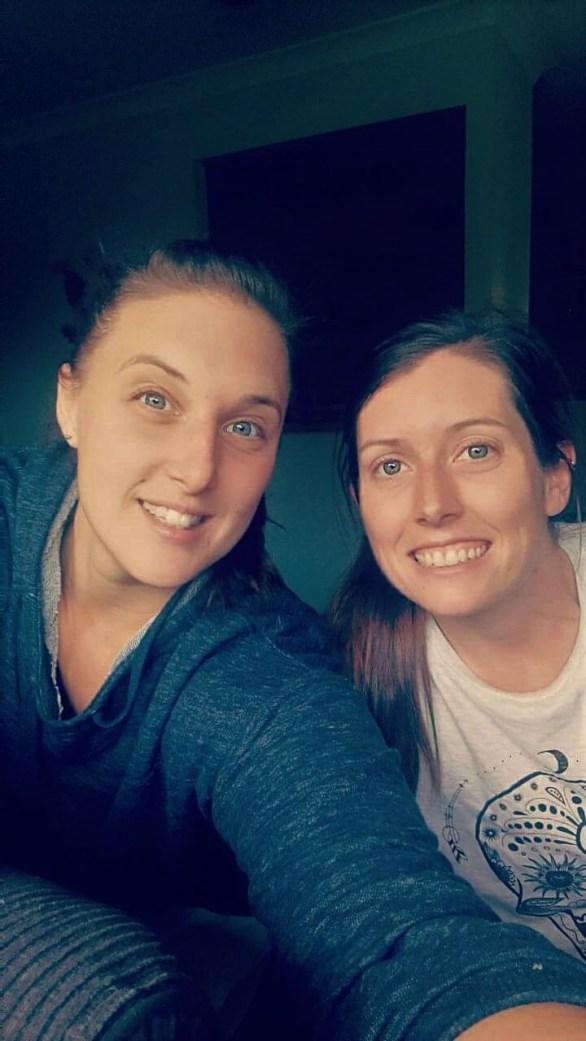 Tori and I