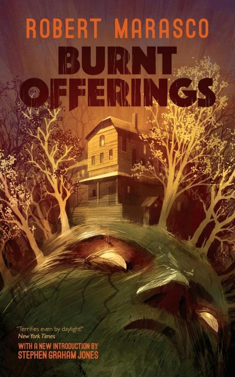 cover of Burnt Offerings by Robert Marasco