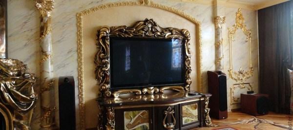 Фото тумбы под телевизор в интерьере: навесной, с ящиками ...