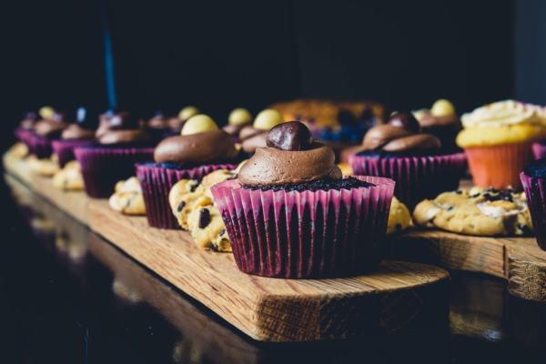Christmas, vegan gingerbread muffins