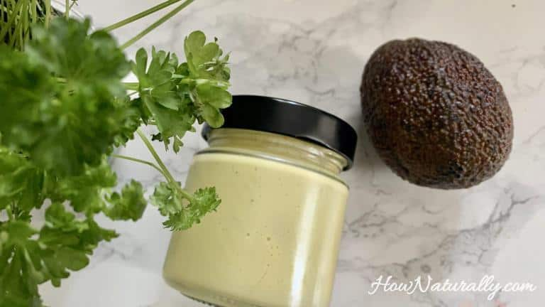 Homemade mayonnaise, full of healthy fats (keto, lchf)