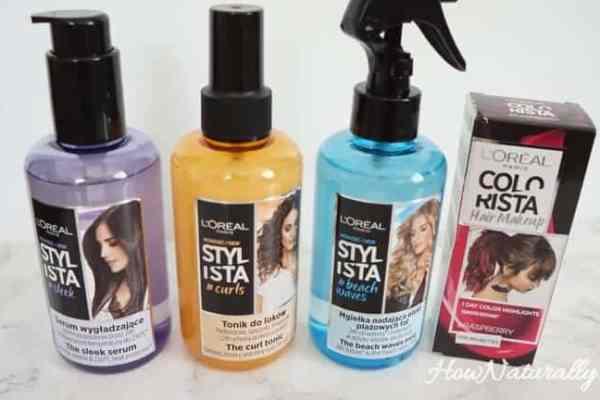 L'oreal Stylista, hair styling cosmetics