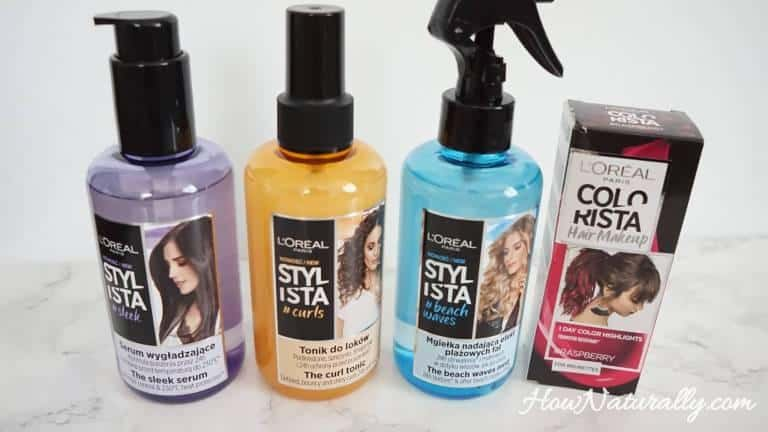 L'oreal Stylista, hair styling cosmetics