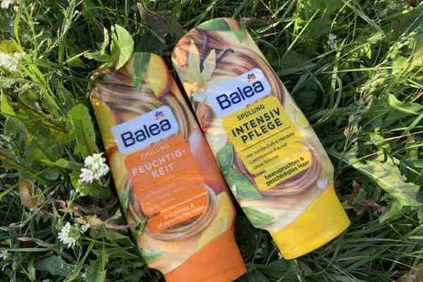 Balea conditioners from DM drugerie: mango and vanilla