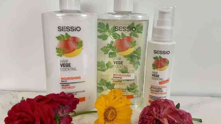 Sessio hair vege cocktail | light curly hair  conditioners