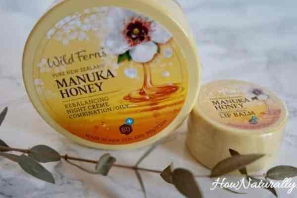 Wild Ferns, natural cosmetics with Manuka honey