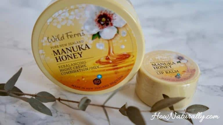 Wild Ferns, natural cosmetics with Manuka honey
