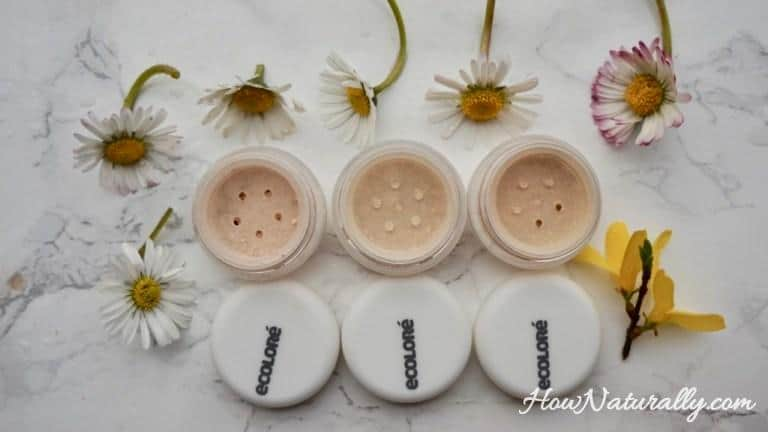 Ecolore, foundations for fair skin | swatches