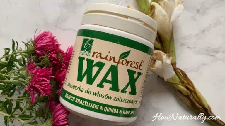 Wax Rainforest, a mask for damaged hair