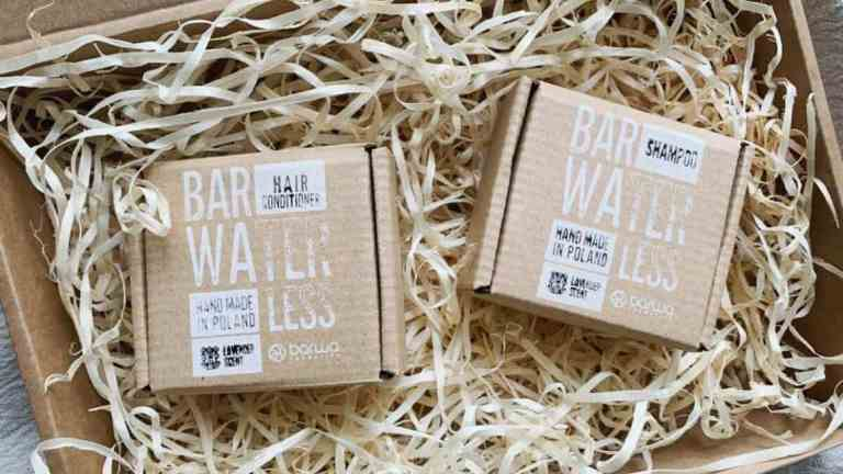 Waterless Barwa: shampoo and conditioner no waste in a bar