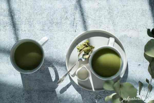 Matcha latte – a quick and simple recipe