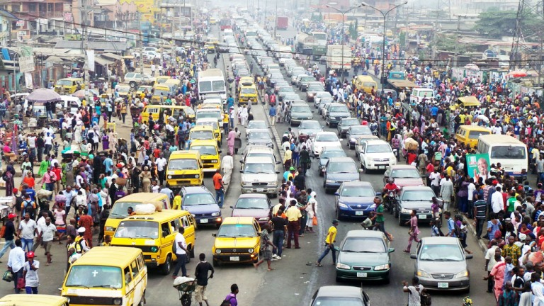 Image result for Traffic in Lagos Nigeria