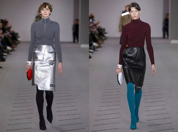 Leather skirt designs fall 2018 winter 2019