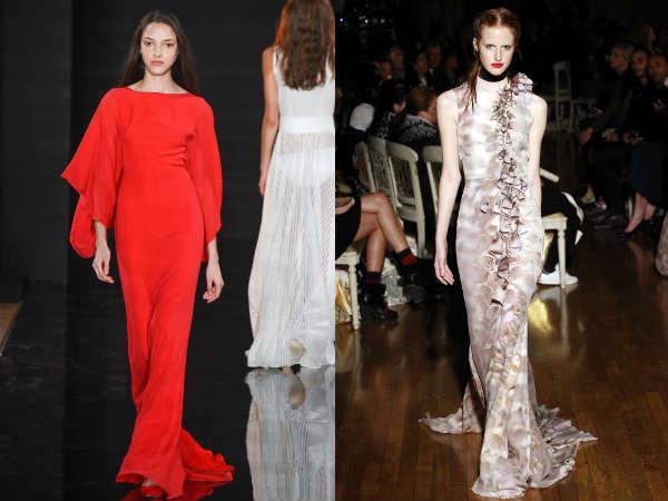 Long elegant 2017 dresses