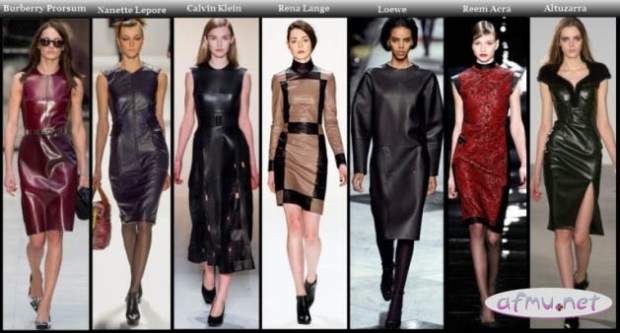 Leather dresses3