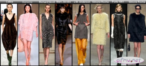 Fur dresses5