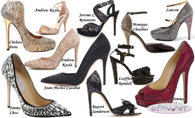 Glitter heels6